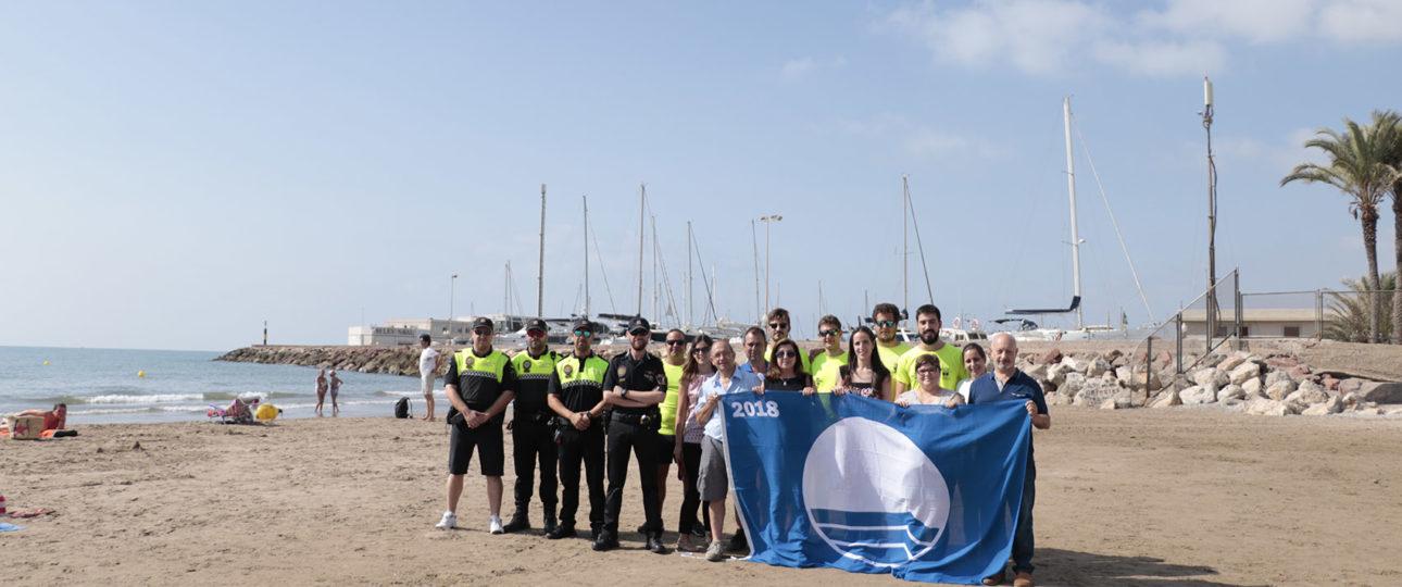 Bandera Azul 2018 - Platja nord - Pobla de Farnals - Valencia